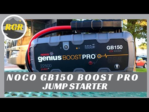 NOCO GB150 Genius Boost Pro Jump Starter | Product Review | Portable Lithium Jump Starter