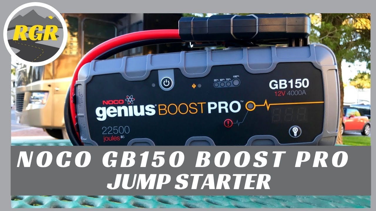 noco gb150 genius boost pro jump starter product review. Black Bedroom Furniture Sets. Home Design Ideas
