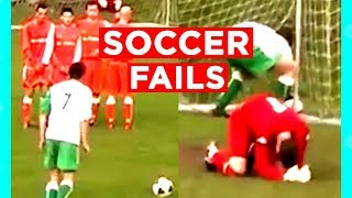 SOCCER?! FOOTBALL?! OR... BOTH?! | SOCCER FOOTBALL FAILS THAT WILL MAKE YOU... | Mas Supreme