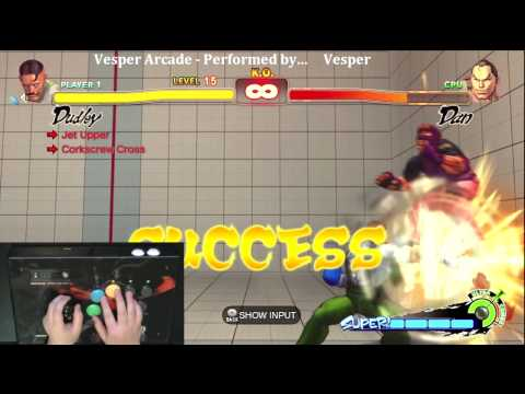 Super Street Fighter 4 Trials - Dudley