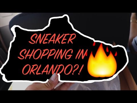 SNEAKER SHOPPING IN FLORIDA!!