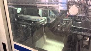 Автоматическая линия производства окон ПВХ - нарезка профиля(Данный станок производит нарезку профиля по определённым загруженным ранее в него размерам. Также одновре..., 2015-06-29T13:32:06.000Z)