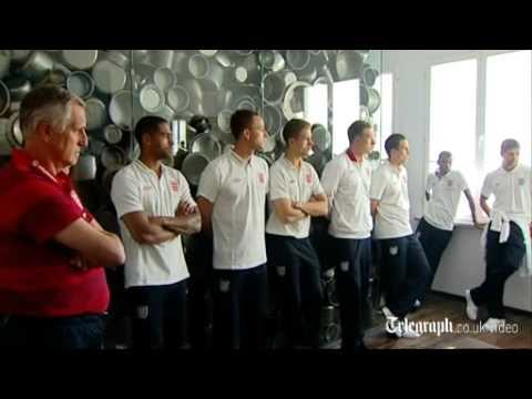England visit Oskar Schindler's factory ahead of Euro 2012