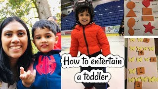 Day in the life of my Toddler - Learning Activities for 2-3 years old // Morning to Night Routine