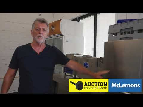 McLernons Auction Perth   Commercial Kitchen