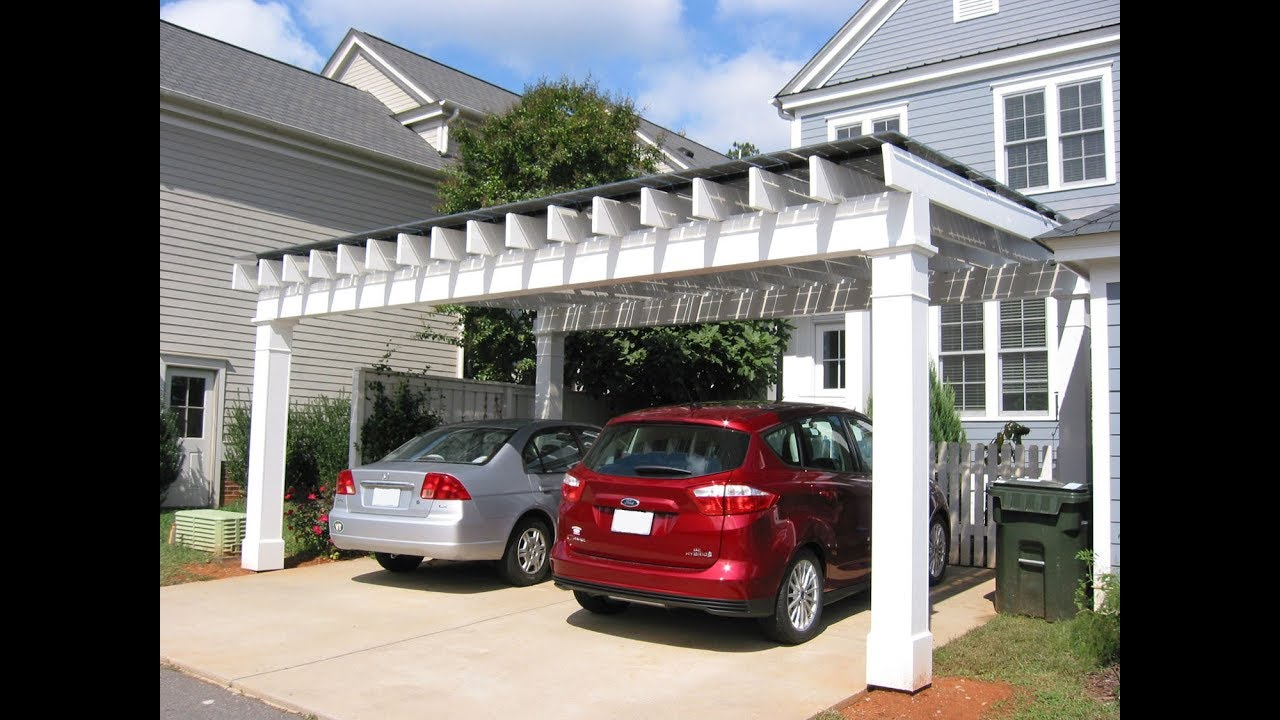 Must Look 24 Carport Ideas For Front Of House 2018 Youtube