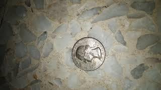 Uang Coin Liberty 1984 Quarter Dollar