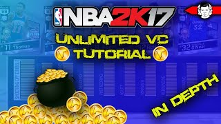 HOW TO EARN TONS OF VC WITH EVERY MyPlayer ! NBA 2K17 UNLIMITED VC TUTORIAL (IN DEPTH) MUST WATCH