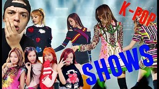 REACCIONANDO A BLACKPINK (K-POP) A SUS CONCIERTOS -SON INCREIBLES