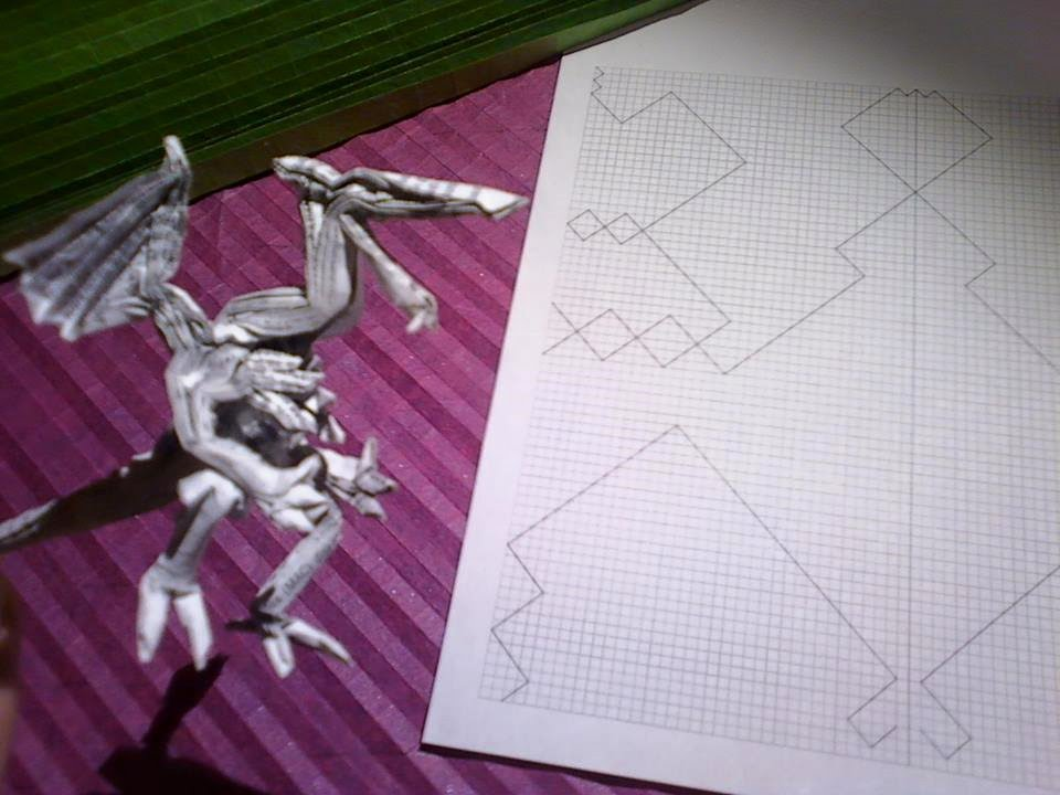 Ridley Crease Pattern Tim Rickman Origami Tutorial