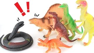 Dinosaur Snake - Learn Dinosaurs Name Sounds Dinosaurs - Learn Names Of Dinosaurs