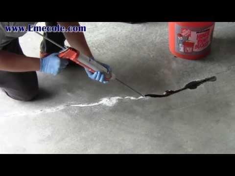Concrete Slab Crack Repair Instructional Video