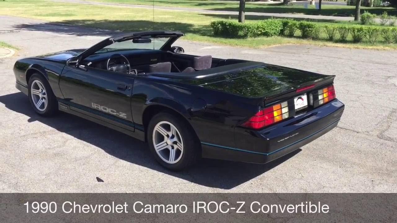1990 chevrolet camaro iroc z convertible from rev up motors youtube 1990 chevrolet camaro iroc z convertible from rev up motors