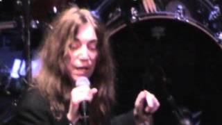 Patti Smith - Are You Experienced - Arena del Sole Bologna 06.04.2008