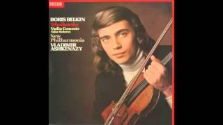 Silent Tone Record/チャイコフスキー:ヴァイオリン協奏曲,ワルツ・スケルツォ/ボリス・ベルキン、ウラディーミル・アシュケナージ指揮ニュー・フィルハーモニア管弦楽団