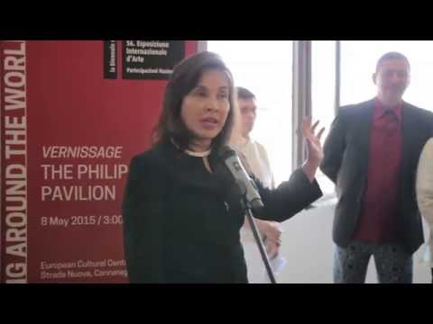 LOREN LEGARDA: Vernissage of the Philippine Pavilion