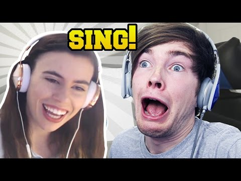 REACTING TO YOUTUBERS SINGING!!! - Видео из Майнкрафт (Minecraft)