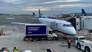 JetBlue E190 Flight BOS-CLT