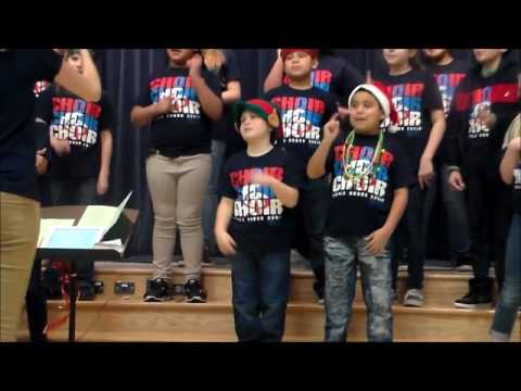 Tavola Elementary School Choir Christmas Concert - 12/12/16