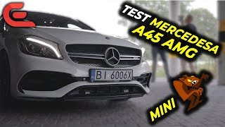 Test Mercedesa A45 AMG