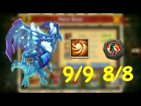 9/9 Sacred Light 8/8 Stone Skin Lavanica In Action L Castle Clash