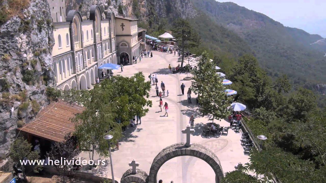 Ostrog Monastery Aerial Video Youtube