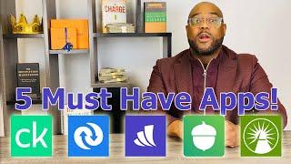 My 5 Best Moฑey Management Apps