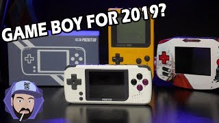 PocketGo - The GameBoy For 2019? NEW Retro Handheld!