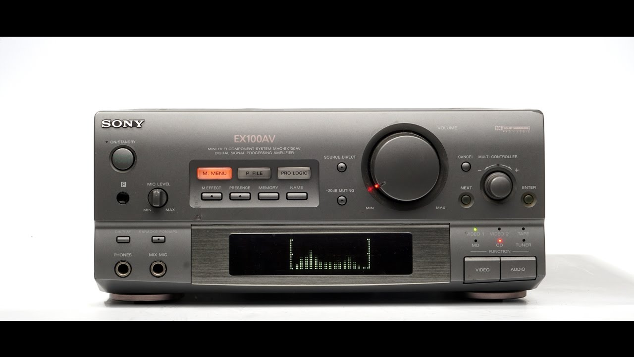 Sony Ta-ex100 Amplifier From Mhc-ex100    Sa-ex200
