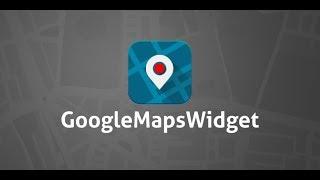 Google Maps Widget for WordPress (free plugin)