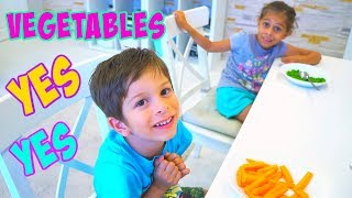 Yes Yes Vegetables Song I+ More Nursery Rhymes Songs From KLS