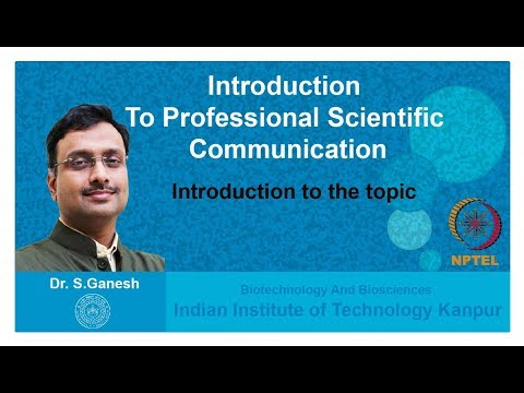 Lecture 1: Introduction to the topic