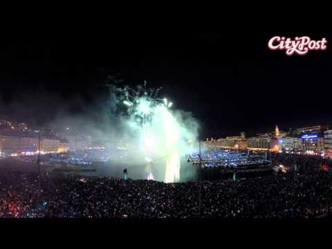 Timelapse Marseille feu d'artifice - Teaser CityPost