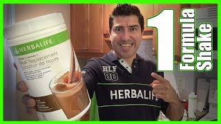 How to LOSE WEIGHT with Herbalife Shake FORMULA 1 Meal Replacement 💚🥛👈🏼😋
