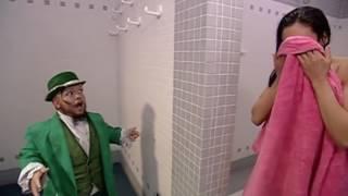 WWE Melina Backstage showering HD