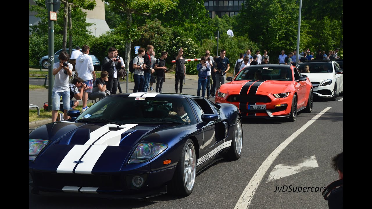 Cars Coffee Dusseldorf  Ford Gt S M Gts Aventadors Prior Design Slr Many More