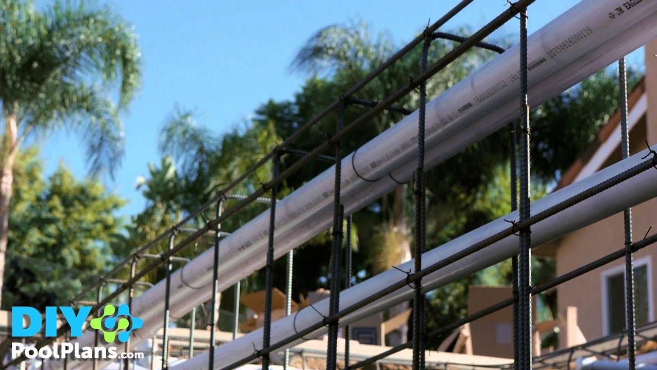 Swimming pool steel rebar 2 of 6 youtube for Swimming pool rebar requirements
