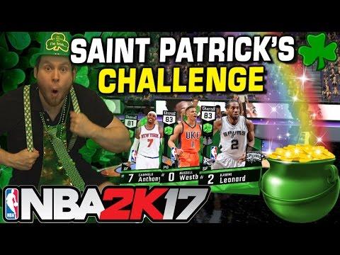 NBA2K17 DRUNK SAINT PATRICK