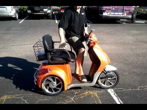 EW-36 Electric Bike Mobility Scooter