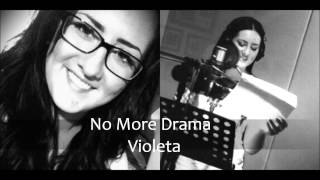 Mary J Blige No More Drama Cover By Violeta Endrich