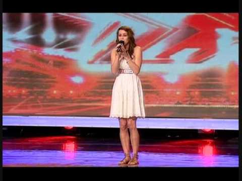"X FACTOR 2009 - LUCIE JONES SINGS ""I WILL ALWAYS LOVE YOU"""