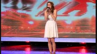 "X FACTOR 2009 - LUCIE JONES SINGS ""I WILL ALWAYS LOVE YOU"""
