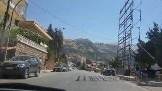 Город Бшарре/Bsharri, серерный Ливан. Обзор