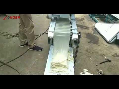 rice noodle making machine|Cheong Fun Processing Machine