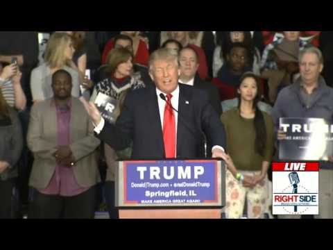 Donald Trump (2015-11-09) Springfield, Illinois. Full speech