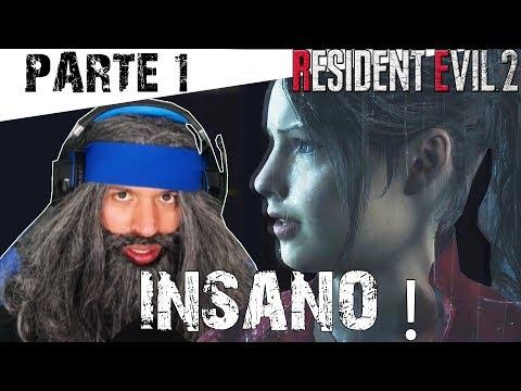 Resident Evil 2 Remake Claire Segunda jornada (Modo Insano) Inicio