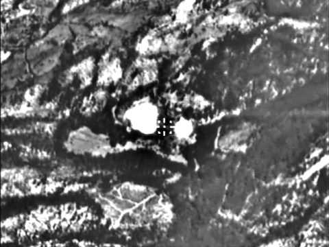 Нанесение удара с применением корректируемых авиабомб по командным пунктам ИГИЛ