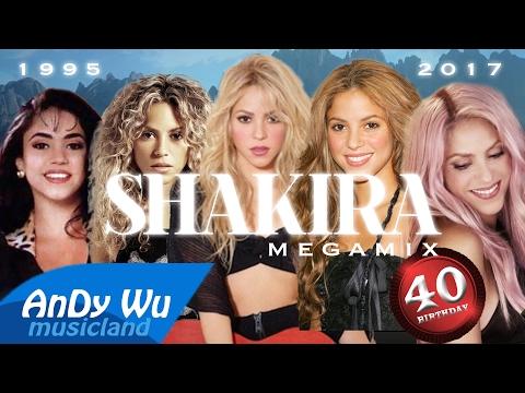 SHAKIRA MEGAMIX (1995-2017) | HAPPY 40TH BIRTHDAY!!