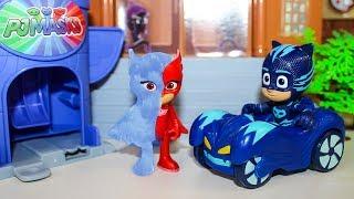Мультики Герои в масках новые серии Кэтбой спасает Алетт Мультфильмы для детей Игрушки PJ Masks