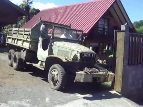 camion militaire gmc youtube. Black Bedroom Furniture Sets. Home Design Ideas